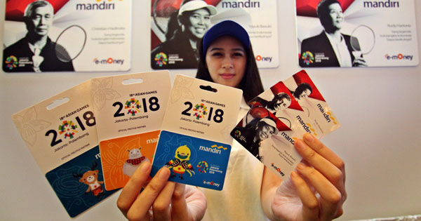 Bank Mandiri Dukung Asian Games