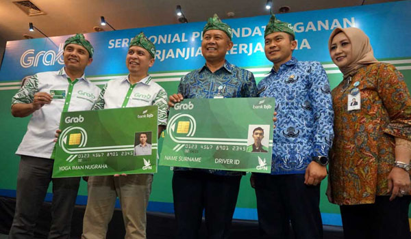 Bank bjb gandeng Grab Indonesia