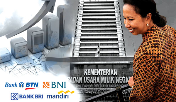 Bank BUMN digadai